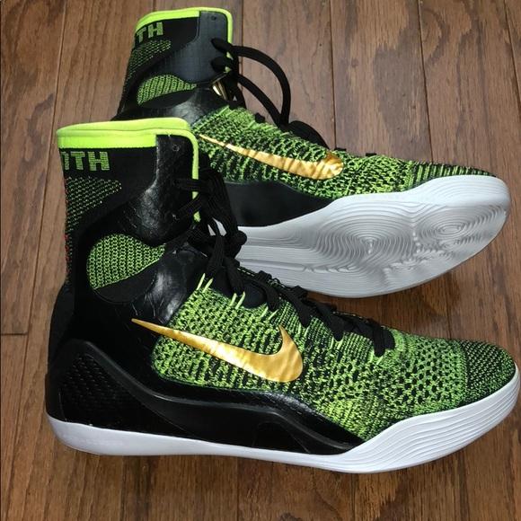 "9322de28c810 🔥RARE Nike Kobe 9 Elite High ""Victory"" Sneakers🏀"